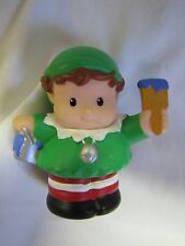 Fisher Price Little People CHRISTMAS ELF Santa Claus Santa's Holiday Helper
