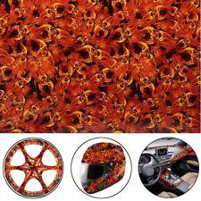 Fire Skeleton Pva Hyd 00004000 rographic Water Transfer Hydro Dipping Dip Print Film Decor