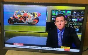 "LG 28TL510V 28"" HD Ready LED TV Monitor+ Freeview HD Freesat (Scraches on screen"