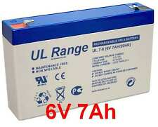 MK Battery ES7-6 ES 7-6  6Volt Akku Batterie 6V 7Ah Aroma 3-FM-7 3FM7