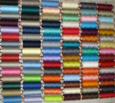 50 SPOOLS 100% POLYESTER SEWING THREADS , 50 Different Colours