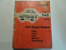 1985 Toyota TRUCK DIESEL Service Shop Repair Workshop Manual FACTORY OEM
