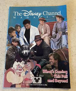 The Disney Channel Magazine August - September 1986