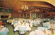 Dundee Illinois Swiss Chalet Interior Vintage Postcard K38179