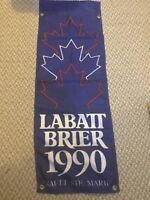 1990 Labatt Brier Canadian Curling Championship banner - Sault Ste. Marie