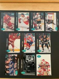 1991/92 Parkhurst French PHC SP Insert Set Nine Cards Plus Santa Claus TOUGH!!