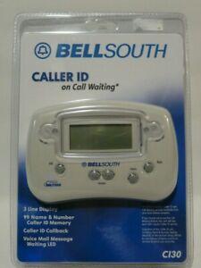 BELLSOUTH Caller ID 3 Line Display 99 Name Number Memory Callback CI30