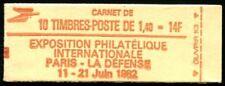 Lot N°3507 France Carnet Moderne N°2102-C5 8 timbres avec impr. partielle Neuf**