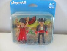 PLAYMOBIL  - couple espagnol - danseurs flamenco 6845