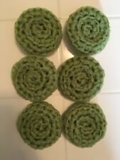 6 Celery Green ---- NYLON NET POT SCRUBBIES