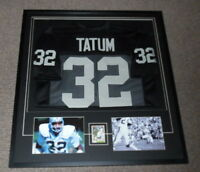 Jack Tatum Signed Framed 33x36 Jersey & Photo Display JSA Raiders OSU