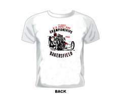 Vintage Race T-shirt Us. Fuel & Gas Championships 1966 Bakersfield.