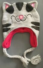 The Big Bang Theory Soft Kitty Face Gray Laplander Beanie Knit Hat One Size Cat