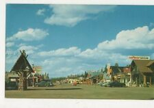West Yellowstone Montana USA Postcard 723a