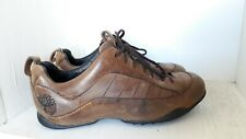 Women's Brown Timberland Leather Walking Shoes Trainers UK Size 7.5