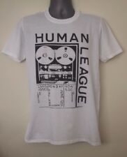 Human League T-shirt early gig flyer gary numan kraftwerk cabaret voltaire