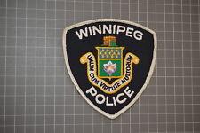 Winnipeg Canada Police Patch (B6)
