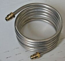 60 INCH 1/4 ALUMINUM TUBING WITH FITTINGS BRAND NEW