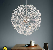 Dandelion  Flower LED Pendant Lamp K9 Crystal Ball Star Chandelier Light Replica