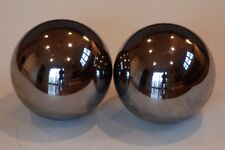 """TWO   1""""  Inch G25 Precision 420 Stainless Steel Bearing Balls"""