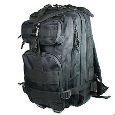 Black 30L Military Tactical Multicam Backpack Rucksack Sport Hiking Trekking Bag