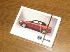 Saab 900 Convertible Playing Cards, sealed deck, RARE! MINT