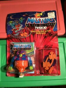 1986 Masters Of The Universe Twistoid Gyro-Spin Action Figure MOC SEALED NEW VTG
