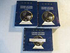 1999 Ford Crown Victoria Grand Marquis Wiring & Service Manuals Manual Set OEM