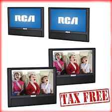 "RCA Mobile Car Dual Screen DVD Player 9"" Portable AV CD Video Games Outputs NEW"