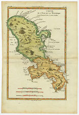 Antique Print-MARTINIQUE-CARIBBEAN-ANTILLES-Bonne-c. 1780