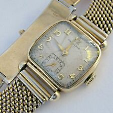 HAMILTON WATCH WADSWORTH 10K GF CASE 17 JEWELS 987A MVMNT. 0410864 KREISLER BAND