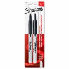 Sanford 2 Pack Sharpie Black Fine Point Retractable Permanent Marker