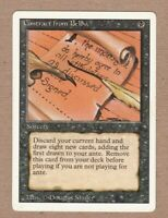 MTG - Contract from Below - Revised 3rd Edit - Rare VG/Played - Single Card