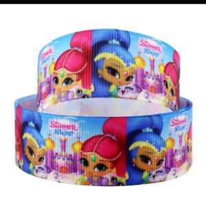 """Shimmer and Shine ribbon 1m long 1"""" wide"""