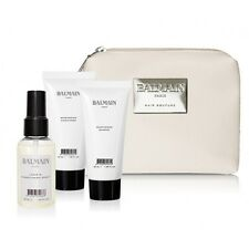 BALMAIN cosmetici di Lusso Cura dei capelli Borsa da viaggio Shampoo Balsamo lascia in Spray