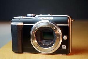 Olympus E-PL1 Body, 12.3 MP, Micro Four Thirds (M43) Anschluss