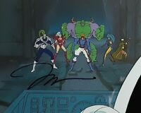 """WILDCATS Cartoon Animation Cel Art & Painted Background 14x10"""" Signed  Jim Lee"""