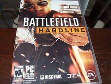 Battlefield hardline (PC 2014) Replacement Discs NO CODES ASIS EA mature
