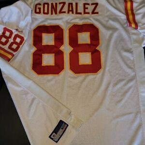 Kansas City Chiefs On Field TONY GONZALEZ Reebok Jersey size 60 Sewn EUC Rare Sz