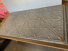"25 NOS 1890's PCs  24"" X 48"" Antigue / Vintage Tin Ceiling Tile -Never installed"