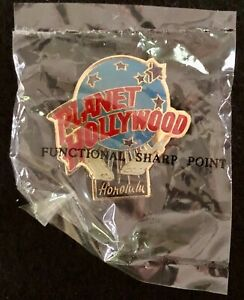 Planet Hollywood Honolulu VINTAGE 1990's Pin NEW IN PACKAGING - SEALED