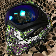 NEW V-Force Grill (Thermal HDR Lens) Paintball Face Mask Goggle - Joker Lime