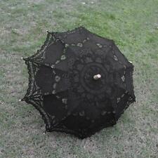 Brautschirm Sonnenschirm Regenschirm Spitzenschirm Schirme Schwarz