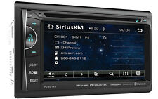 POWER ACOUSTIK PD-621XB DOUBLE 2 DIN CD/DVD PLAYER 6.2