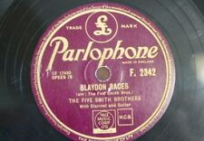 78 rpm THE FIVE SMITH BROTHERS blaydon races / by the old willow tree