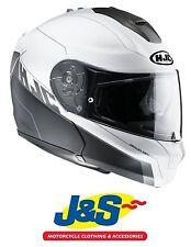 HJC RPHA MAX EVO ZOOMWALT FLIP FRONT MOTORCYCLE HELMET MODULAR TOURING LID J&S