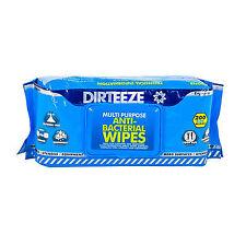 1x Dirteeze Anti Bacterial 200 Wipes Food Prep Work Surfaces Hygiene E Coli MRSA