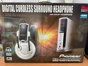 Digital Cordless Surround Headphone w/ Dolby Headphone Pioneer SE-DIR1000C