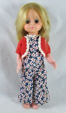 "Uneeda 13"" Girl Doll Vinyl Crissy Velvet Type  Friend Jointed Rooted Hair 1970"