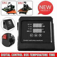 HeatPress Machine Digital Control Box-Temperature Time 110V For TShirt Mug Plate